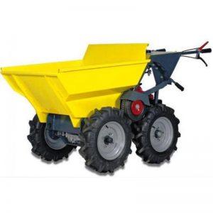 mini-transporteur-brouette-a-moteur-honda-sur-4-roues-egales-2